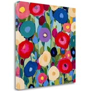 Tangletown Fine Art 'Summer Solstice' Print on Wrapped Canvas; 35 inch...