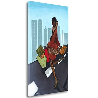 Tangletown Fine Art 'Take Over' Graphic Art Print on Wrapped Canvas; 32'' H x 20'' W