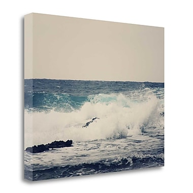 Tangletown Fine Art 'Ocean Blue' Photographic Print on Wrapped Canvas; 21'' H x 26'' W
