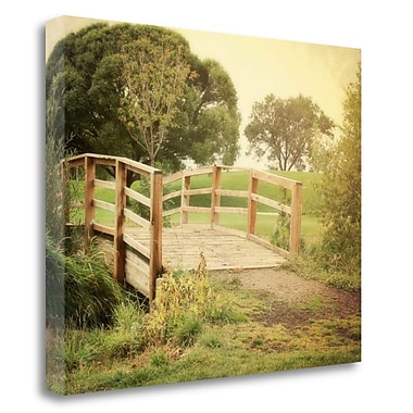 Tangletown Fine Art 'Sunday Stroll' Photographic Print on Wrapped Canvas; 23'' H x 29'' W