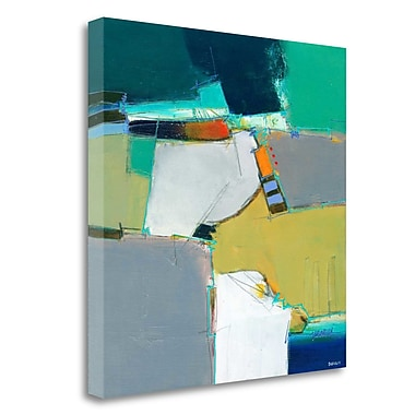 Tangletown Fine Art 'Raleigh' Print on Wrapped Canvas; 25'' H x 25'' W