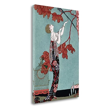 Tangletown Fine Art 'Fashion Illustration 1914' Graphic Art Print on Wrapped Canvas; 29'' H x 20'' W