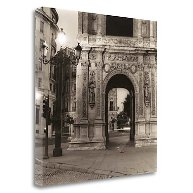 Tangletown Fine Art 'Plaza de San Francisco' Photographic Print on Wrapped Canvas; 35'' H x 35'' W