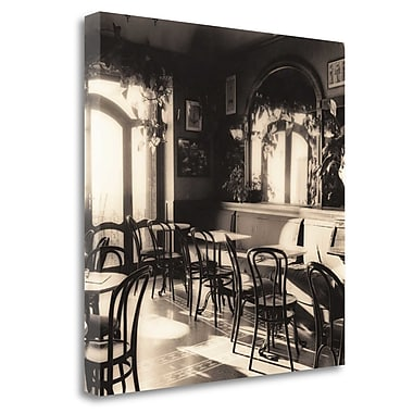 Tangletown Fine Art 'Caffe Montepulciano' Photographic Print on Wrapped Canvas; 30'' H x 30'' W