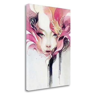 Tangletown Fine Art 'Bauhinia' Graphic Art Print on Wrapped Canvas; 39'' H x 28'' W