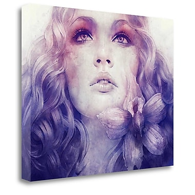 Tangletown Fine Art 'July' Graphic Art Print on Wrapped Canvas; 20'' H x 26'' W