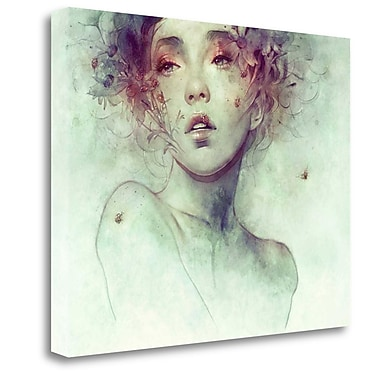 Tangletown Fine Art 'Swarm' Graphic Art Print on Wrapped Canvas; 20'' H x 27'' W