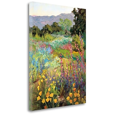 Tangletown Fine Art 'Spring Days' Print on Wrapped Canvas; 33'' H x 25'' W