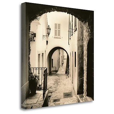 Tangletown Fine Art 'Varenna Lago di Como' Photographic Print on Wrapped Canvas; 35'' H x 35'' W