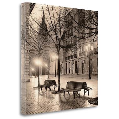 Tangletown Fine Art 'Plaza de Porlier Oviedo' Photographic Print on Wrapped Canvas; 20'' H x 20'' W