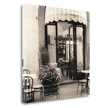 Tangletown Fine Art 'Caffe Umbria' Photographic Print on Wrapped Canvas; 30'' H x 30'' W