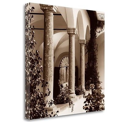 Tangletown Fine Art 'Piazza Toscana' Photographic Print on Wrapped Canvas; 29'' H x 29'' W
