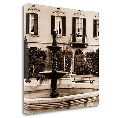 Tangletown Fine Art 'Piazza Lombardy' Photographic Print on Wrapped Canvas; 26'' H x 26'' W