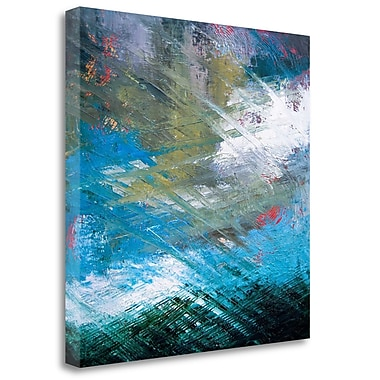 Tangletown Fine Art 'Surface Structure' Print on Wrapped Canvas; 30'' H x 30'' W