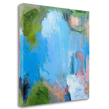 Tangletown Fine Art 'Interior Exterior' Print on Wrapped Canvas; 35'' H x 35'' W
