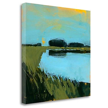 Tangletown Fine Art 'Still Waters' Print on Wrapped Canvas; 30'' H x 30'' W