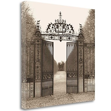 Tangletown Fine Art 'Hampton Gate' Photographic Print on Wrapped Canvas; 30'' H x 30'' W