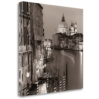 Tangletown Fine Art 'Ponte Accademia' Graphic Art Print on Wrapped Canvas; 30'' H x 30'' W