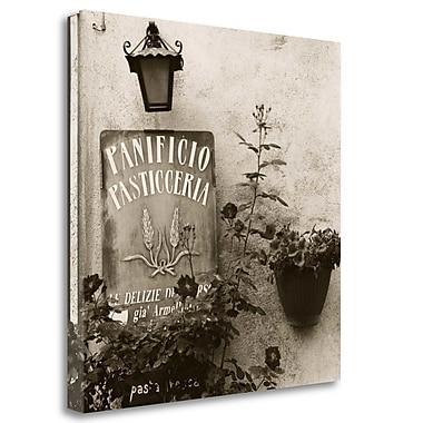 Tangletown Fine Art 'Panificio Pasticceria' Photographic Print on Wrapped Canvas; 35'' H x 35'' W
