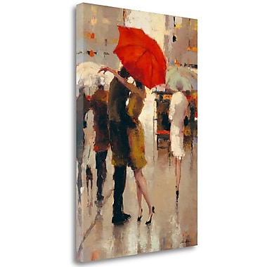 Tangletown Fine Art 'Sweet Surprise' Print on Wrapped Canvas; 28'' H x 19'' W