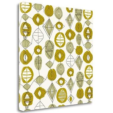 Tangletown Fine Art 'Atomic Art 3' Graphic Art Print on Wrapped Canvas; 35'' H x 35'' W