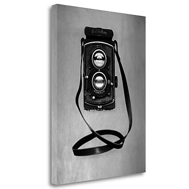 Tangletown Fine Art 'Retro Point and Shoot - 4' Graphic Art Print on Wrapped Canvas; 47'' H x 35'' W