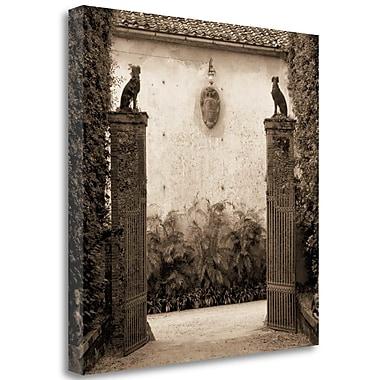 Tangletown Fine Art 'Giardini Ornamentale' Photographic Print on Wrapped Canvas; 35'' H x 35'' W