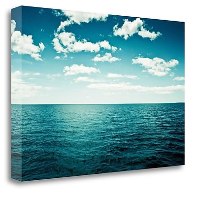 Tangletown Fine Art 'Spell of the Sea' Graphic Art Print on Wrapped Canvas; 19'' H x 28'' W