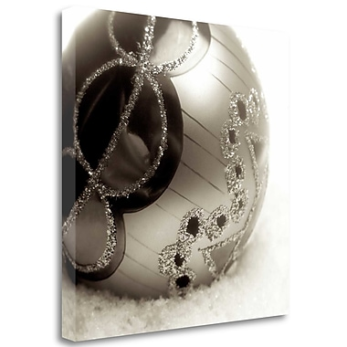 Tangletown Fine Art 'Holiday - 2' Graphic Art Print on Wrapped Canvas; 35'' H x 35'' W