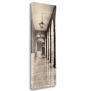Tangletown Fine Art 'Leon Espana' Graphic Art Print on Wrapped Canvas; 40'' H x 16'' W