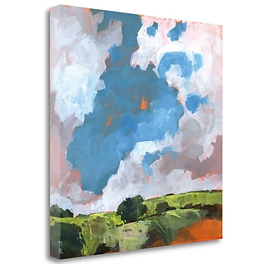 Tangletown Fine Art 'Autumn Dawn' Print on Wrapped Canvas; 35'' H x 35'' W