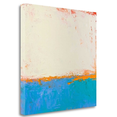 Tangletown Fine Art 'Calm Seas' Print on Wrapped Canvas; 35'' H x 35'' W
