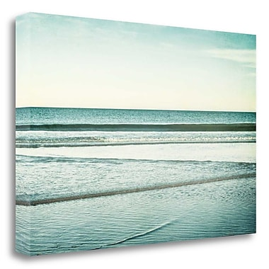 Tangletown Fine Art 'Low Tide' Photographic Print on Wrapped Canvas; 20'' H x 29'' W