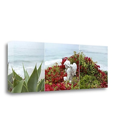 Tangletown Fine Art 'Laguna Coast - 3' Photographic Print on Wrapped Canvas; 13'' H x 39'' W