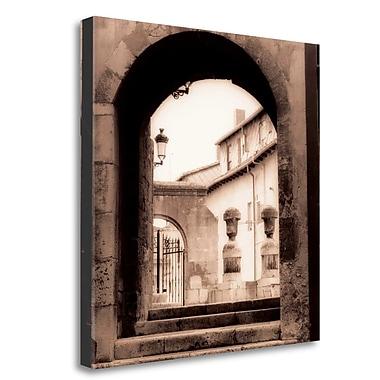 Tangletown Fine Art 'Sevilla Espana' Graphic Art Print on Wrapped Canvas; 24'' H x 24'' W