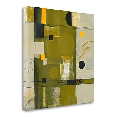 Tangletown Fine Art 'Shady Lane II' Graphic Art Print on Wrapped Canvas; 35'' H x 35'' W