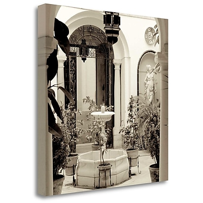 Tangletown Fine Art 'Cordoba - 2' Photographic Print on Wrapped Canvas; 35'' H x 35'' W