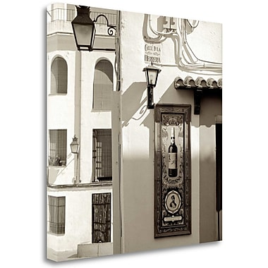 Tangletown Fine Art 'Espa a - 1' Photographic Print on Wrapped Canvas; 35'' H x 35'' W