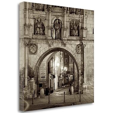 Tangletown Fine Art 'Burgos - 1' Photographic Print on Wrapped Canvas; 35'' H x 35'' W
