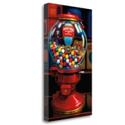Tangletown Fine Art 'Gumball Machine IV' Photographic Print on Wrapped Canvas; 48'' H x 28'' W