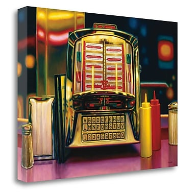 Tangletown Fine Art 'Wall Box II' Graphic Art Print on Wrapped Canvas; 21'' H x 29'' W