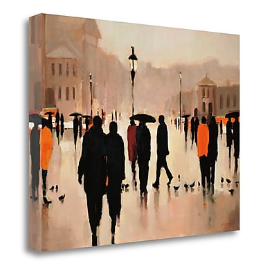 Tangletown Fine Art 'Where We Once Walked' Print on Wrapped Canvas; 28'' H x 36'' W