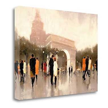 Tangletown Fine Art 'Monumental Day' Print on Wrapped Canvas; 25'' H x 32'' W