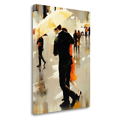 Tangletown Fine Art 'Shelter of the Soul' Print on Wrapped Canvas; 40'' H x 30'' W
