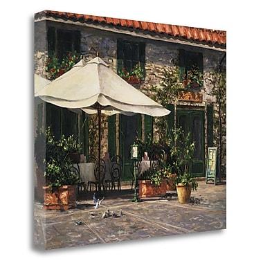 Tangletown Fine Art 'Ristorante Il Pozzo' Photographic Print on Wrapped Canvas; 26'' H x 32'' W