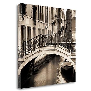 Tangletown Fine Art 'Ponti di Venezia No. 1' Photographic Print on Wrapped Canvas; 35'' H x 35'' W