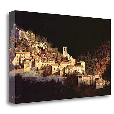Tangletown Fine Art 'Paesaggio Scuro' Photographic Print on Wrapped Canvas; 15'' H x 24'' W