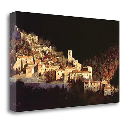 Tangletown Fine Art 'Paesaggio Scuro' Photographic Print on Wrapped Canvas; 24'' H x 40'' W