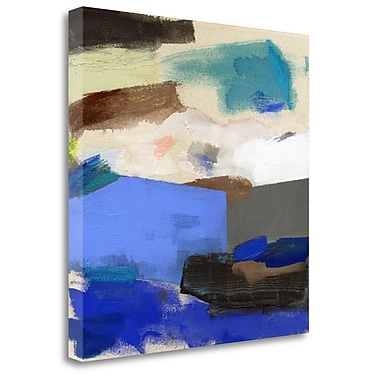 Tangletown Fine Art 'Where We Meet' Print on Wrapped Canvas; 35'' H x 35'' W