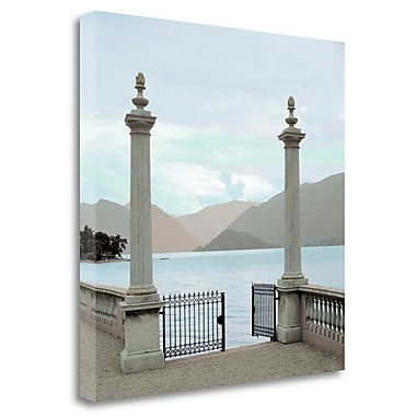 Tangletown Fine Art 'Harbor Garden Gates' Photographic Print on Wrapped Canvas; 35'' H x 35'' W